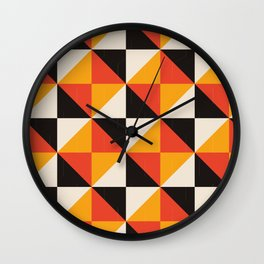 Isometric Squares Wall Clock