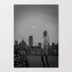 Noir City Canvas Print