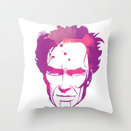 ClintEASTWOOD Throw Pillow