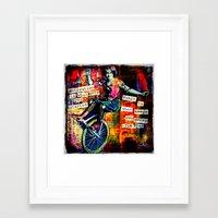 motivation Framed Art Prints featuring Motivation by Rachelle Panagarry