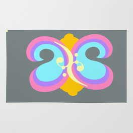 Butterfly Hymnal Rug