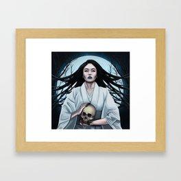 Yuki Onna Framed Art Print