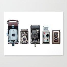 Camera Collection Canvas Print