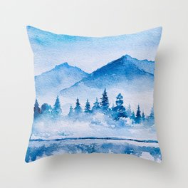 Winter scenery #15 Throw Pillow