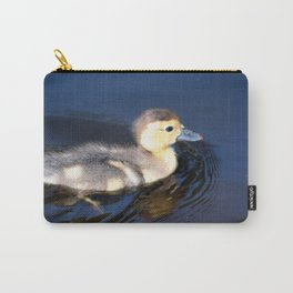 Cute Duckling Swimming in a Pond Carry-All Pouch