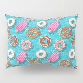 Poolparty doughnuts, pretzel,lollies Pillow Sham