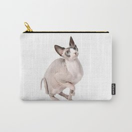Mumbles the Sphynx Cat 01 Carry-All Pouch