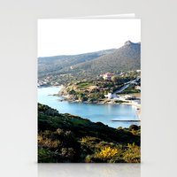 greece Stationery Cards featuring Greece by Chiara