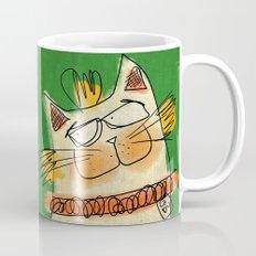 Cat - green Mug