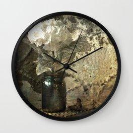 Vintage Mercury Jars Wall Clock