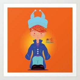 Le petit Mikel /Character & Art Toy design for fun Art Print