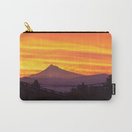 Mt. Hood Sunrise Carry-All Pouch