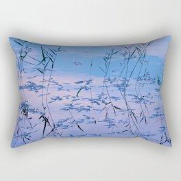 Reflections on the lake surface #society6 #decor #buyart Rectangular Pillow
