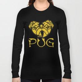 WU TANG PUG Long Sleeve T-shirt