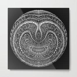 Tangled Orb Metal Print