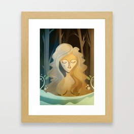 Sad Pagan Framed Art Print