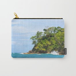 Ocean and forest cliff at Manuel Antonio Costa Rica Carry-All Pouch