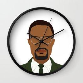 Malcolm X Wall Clock