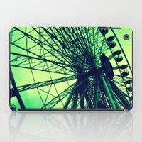 vienna iPad Cases featuring Big wheel [Vienna] by Mi Nu Ra