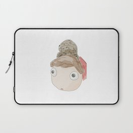 DekaDeka & DekaSan (Ponyo and Salamander) Laptop Sleeve