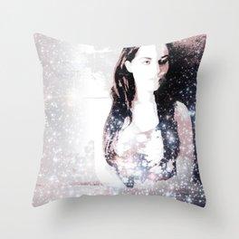 A Bright Star Elizabeth Taylor Throw Pillow