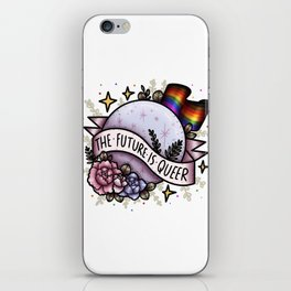 The Future Is Queer iPhone Skin