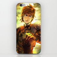hiccup iPhone & iPod Skins featuring Hiccup by keiden