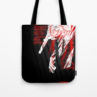 carnage Tote Bags featuring CARNaGE by Psychojoe151