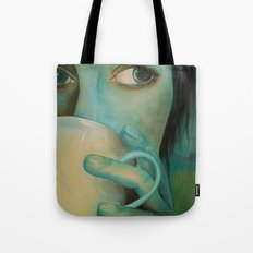 First Cup Tote Bag