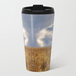 landscape 002: golden slumbers, big sky Travel Mug