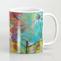 medicine Mugs featuring Medicine Warrior by Pixie Campbell