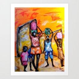 Burdens We Bear Art Print