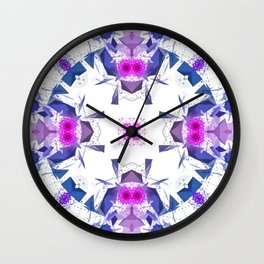 Geometric Alignment Wall Clock