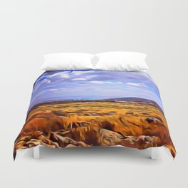Dove of the Milk and Honey Duvet Cover
