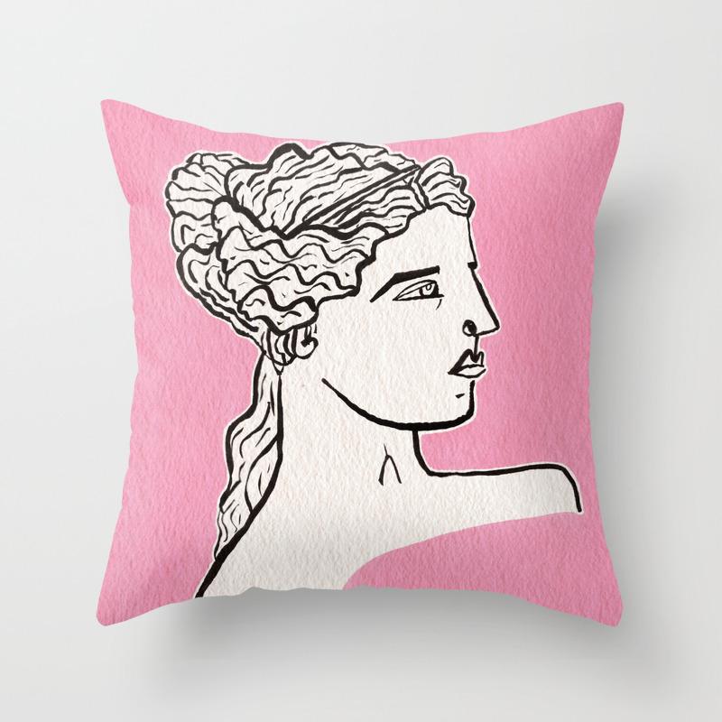 Venus De Milo Statue Throw Pillow By Idriera Society6