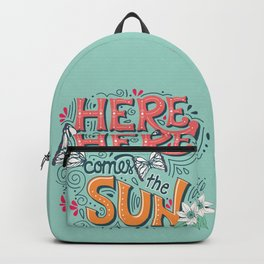 Here Comes The Sun 001 Backpack