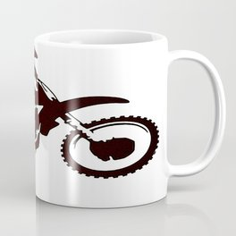 Motor X Silhouette Coffee Mug