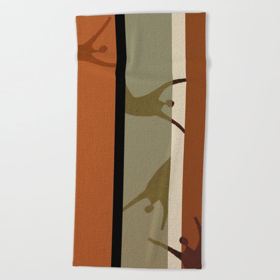Vertigo Beach Towel