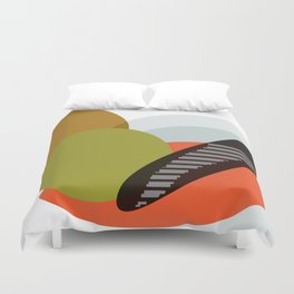 Abstract 2018 015 Duvet Cover