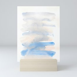 150129 Neutral Cool Abstract 1 Mini Art Print