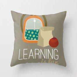 Backpacks & lunch sacks Throw Pillow