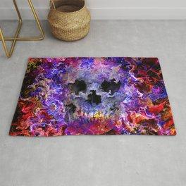 Hippie skull Rug
