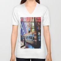 faith V-neck T-shirts featuring Faith by John Turck