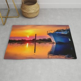Sunset on the Bayou Rug