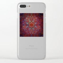 Magic 27 mandala Clear iPhone Case