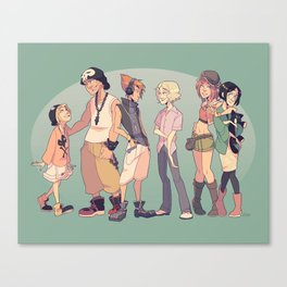 TWEWY Canvas Print
