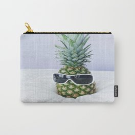 Pineapple With Sunglasses Carry-All Pouch