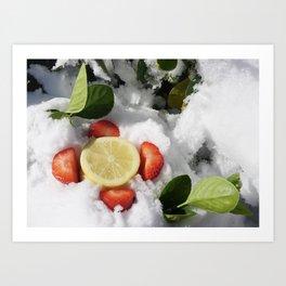 Strawberry~lemonade Art Print