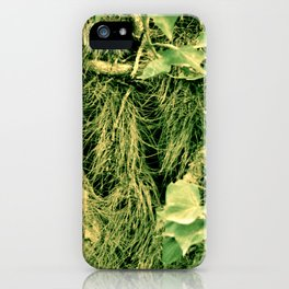 Nature is going abstract VIII iPhone Case