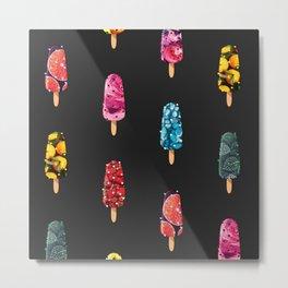 Ice cream Mix - 2 Metal Print